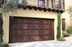 Dynamic Garage Door | Custom Architectural Garage Door : Spanish Colonial