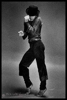 "Baryshnikov in Twyla Tharp's ""Push Comes to Shove""- photo by Max Waldman"