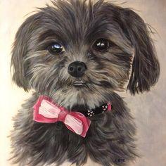 Tiny and adorable. Commission by Exnihilo art & design by Hazel Keys Pet Portraits, Make Me Smile, Keys, Original Art, Watercolor, Ink, Creative, Artist, Photos