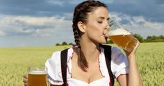 A Dirndl is something you already know but may not know the name of. It's these things that girls wear at Oktoberfest every year because they're a traditional Germa. Snacks For Work, Healthy Work Snacks, Oktoberfest History, Beer Maid, Pretty Movie, Die 100, Beer Girl, In Hollywood, Most Beautiful Women
