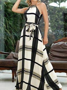 Women's Fashion Tankini Online Shopping – Chic Me Backless Maxi Dresses, White Maxi Dresses, Trend Fashion, Fashion Looks, Modelos Fashion, Vestido Casual, Vestidos Vintage, Online Dress Shopping, Dress Online