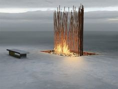 Meditation Space Design by Fire Features - Modern Homes Interior Design and Decorating Ideas on Decodir