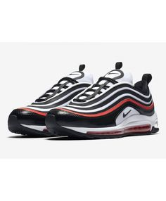online store 1726a 1b75e Men s Nike Air Max 97 Ultra 17 SE White Black Red Trainer,Fashion sneakers,  buy now Enjoy business discounts now!
