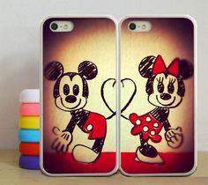 Disney Mickey Mouse and Minnie Mouse John Smith Couple by Asucase8, $9.99