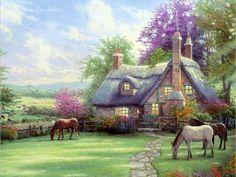 pasture near the cottage                                                                                                                                                     Plus