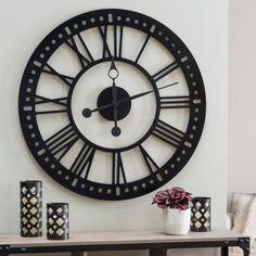 Hawthorne Oversized Tower 38 Inch Wall Clock - Wall Clocks at Hayneedle