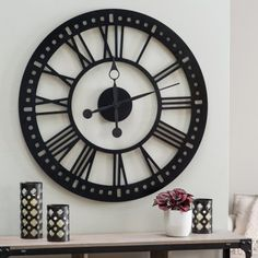 Hawthorne Oversized Tower 38 Inch Wall Clock                                                                                                                                                                                 More