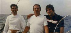 (L-R) turncoat Former Colombo Consigliere Carmine Sessa with Colombo Soilders Greg Scarpa Sr,Greg Scarpa Jr.