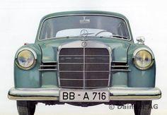 """""""Ponton-Mercedes"""" Typ 180 b / 180 Db Mercedes Auto, Mercedes Benz Maybach, Mercedes Sport, Old Mercedes, Mercedes Models, Classic Mercedes, Benz Car, Retro Cars, Vintage Cars"""