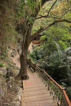 Wunshan hot spring - Taiwan