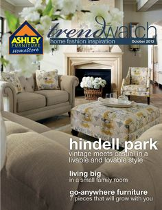 Amazing The Livable And Lovable Hindell Park Collection... Our Furniture! Not The  Couches. Ashley HomeHome ...
