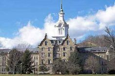 """The Trans-Allegheny Lunatic Asylum in Weston, West Virginia is said to be the most haunted location in the United States.  Shut down in 1994 it is said that """"ice pick lobotomies"""" took place here. A doctor would insert an ice pick into a human brain and with a few sweeping motions render the patient a vegetable. Screams can be heard inside the Asylum as well as sounds of gurneys being pushed down the halls."""