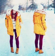 Fashion Womens Winter Fur Collar Thick Padded Long Coat Outerwear Jacket