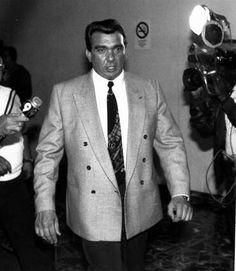 Rare photo of Castellano shooter and Gambino soldier John Carneglia
