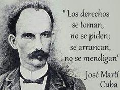 """Caminos del viento: """"Derechos"""". José Martí."""