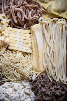 fresh pasta is the best pasta. Not really, all pasta is the best pasta. Think Food, Love Food, Antipasto, Pasta Recipes, Cooking Recipes, Cooking Tips, Gula, Fresh Pasta, Homemade Pasta