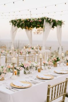 A festive alfresco celebration in san pedro california pinterest reception layouts and unique - Hochzeitsfeier im garten ...