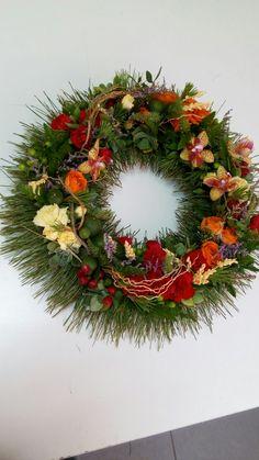 Corona funeraria • Wreath