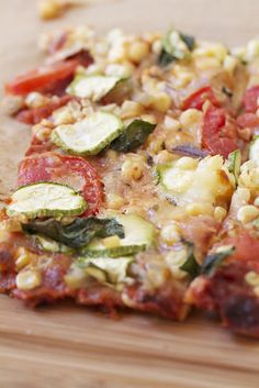 Sunday 5 May 2913. Farmers' Market Pizza. Another pizza idea with per made pizza crusts for a Sunday stay in night .  !