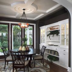 love this dining room. i'm just going to have to build my own house.