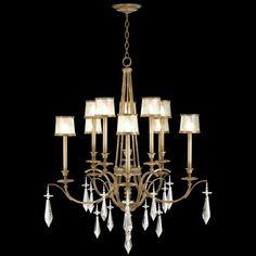 Fine Art Lamps Monte Carlo Candelabra 10 Bulbs Chandelier