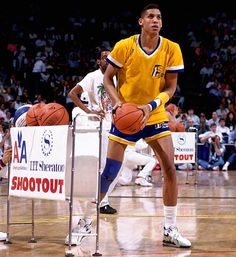 Indiana Reggie Miller takes aim during the contest. Basketball Videos, Basketball History, Basketball Skills, Basketball Pictures, Sports Basketball, Basketball Players, Sports Images, Sports Pictures, Best Nba Players