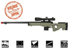 New Product Deliveries at Airsoft GI Airsoft Sniper, Airsoft Gear, Tactical Gear, Power Bolt, Muzzle Velocity, Metal Barrel, Paintball Guns, Mundo Comic, Military Guns