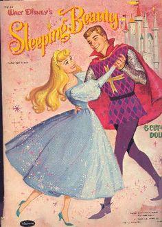 1959 Disney Sleeping Beauty Paper Dolls