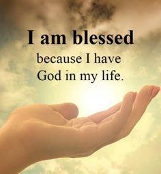I am blessed! Faith Prayer, God Prayer, Prayer Quotes, Bible Verses Quotes, Faith Quotes, Wisdom Quotes, True Quotes, Scriptures, Affirmation Quotes