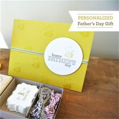 A Honey Of An Idea! MDS For Father's Day!  Dawn Bourgette - Dawns Creative Chalet.com