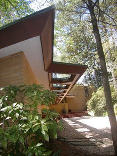 Frank Lloyd Wrights Hemicycle Style. Sited perfectly to take advantage of protective natural dunes and Crystal Lake in Virginia Beach,VA.