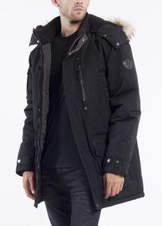 NOIZE-men-PETER BY-black Raincoat, Jackets, Stuff To Buy, Black, Fashion, Rain Jacket, Down Jackets, Moda, Black People