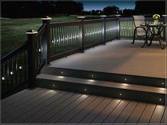 deck lighting ideas solar