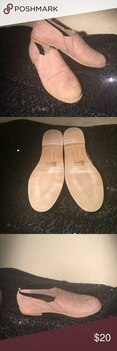 Brand new loafers-wide Loafer style flats with stretch sides. Brand new without tags. Size is a 7.5 wide Shoes Flats & Loafers