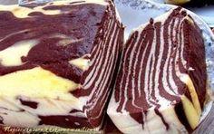 Sernik zebra... Pomysł na ciasto które każdemu wychodzi!