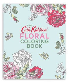 Chronicle Books The Cath Kidston Floral Coloring Book