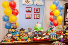 Trendy ideas for birthday party boy themes 2 year old 2 Year Old Birthday Party, Second Birthday Ideas, Trains Birthday Party, Baby Boy 1st Birthday, Birthday Gifts For Boys, Boy Birthday Parties, Car Birthday, 16th Birthday Decorations, Transportation Birthday