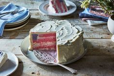 American Flag Ice Cream Cake recipe on Food52