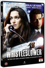 the whistleblower - Kathryn er udstationeret af FN i efterkrigens Bosnien. Hun kommer på sporet af en trafficking-organisation, der viser sig at bestå af ansatte i FN. Ingen er dog interesseret i at sandheden kommer frem.