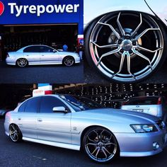 Brand new and cheap VZ Calais fitted with 20 inch Chromium Hussla Royalty tyres in Adelaide.