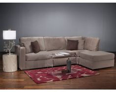"LoveSac Sactionals: Amazing furniture built from ""bases"" and ""sides"" so you can re-configure your furniture multiple ways."