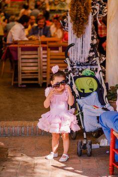 Girl in pink at Feria de Carmona, Spain @viveandalucia | Bold Bliss
