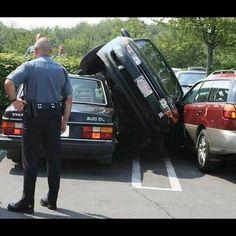 Aparcao!    #coches #humor