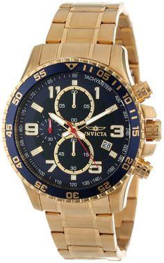 Invicta - 14878 - Speciality - Montre Homme - Quartz Chronographe - Cadran  Noir - Bracelet 9cb9935ce54c