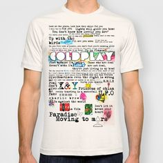 COLDPLAY T-shirt by Adel - $22.00