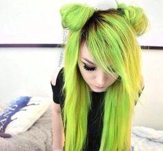 Scene hair emo style