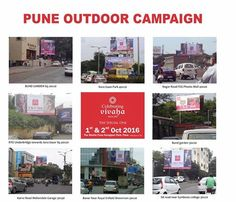 Celebrating Vivaha Wedding Exhibition in Pune, Outdoor Campaign.  Celebrating Vivaha is coming to #Pune on 1st and 2nd October 2016 at The Westin Pune Koregaon Park with the finest #Clothing and #Jewellery designers.  For Queries Visit at: www.vivahaexb.com/wedding-exhibition-pune/ or Contact: 09811923456  #CelebratingVivaha #Designer #Dresses #Fashion #Bridal #Designers #Exhibition #Expo #WeddingExpo #Events #WeddingDresses #DesignerDresses #IndianJewelleryDesigner
