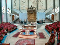 Livorno interior Sinagogue