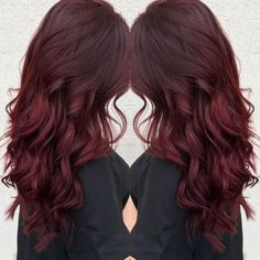 Are you looking for burgundy hair color hairstyles? See our collection full of burgundy hair color hairstyles and get inspired!