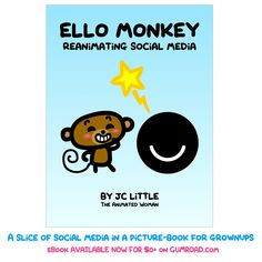 The book is OUT. I REPEAT: THE BOOK IS OUT. #ello #socialmedia